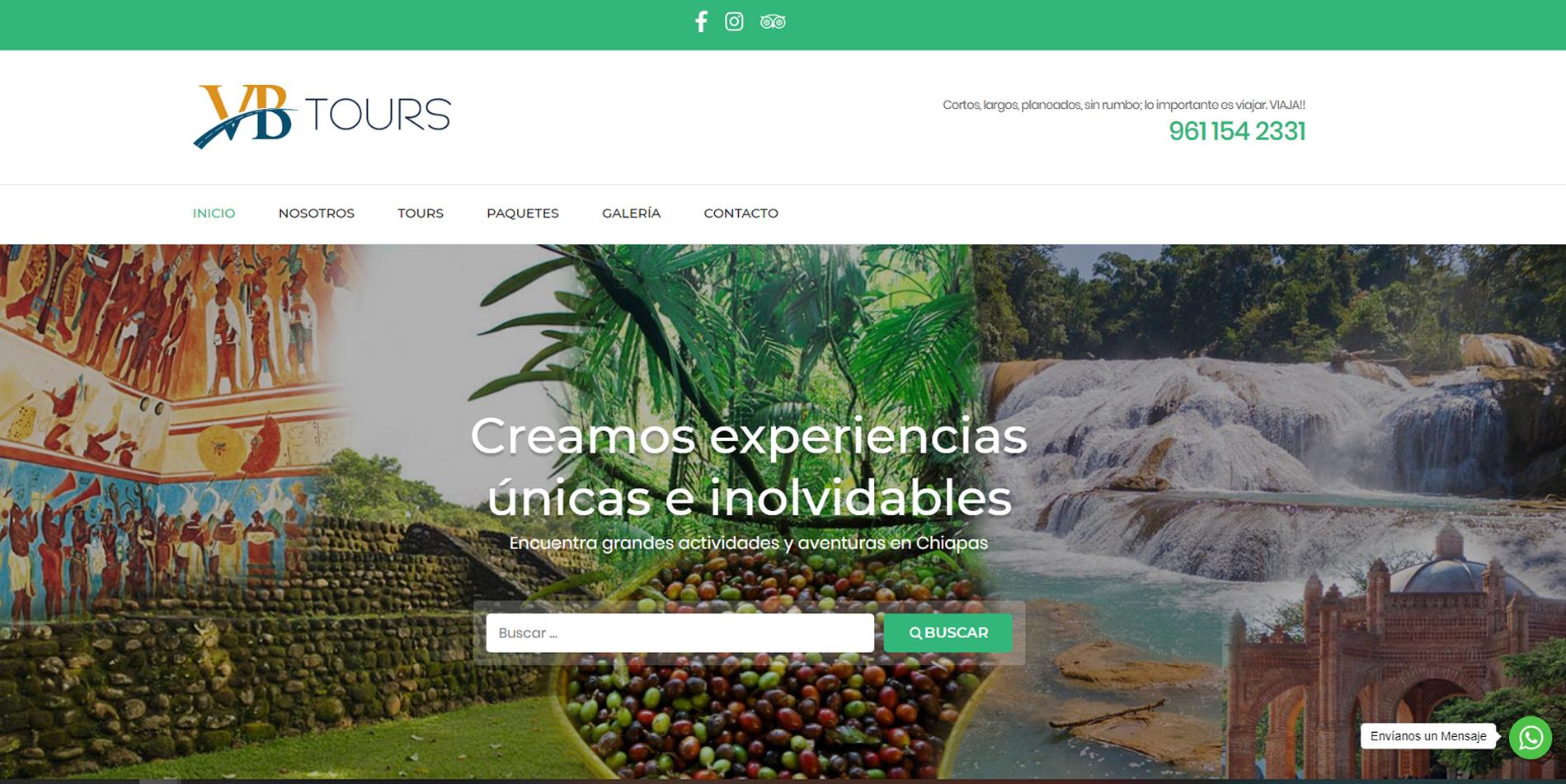 Páginas web en Tapachula, Chiapas 2017