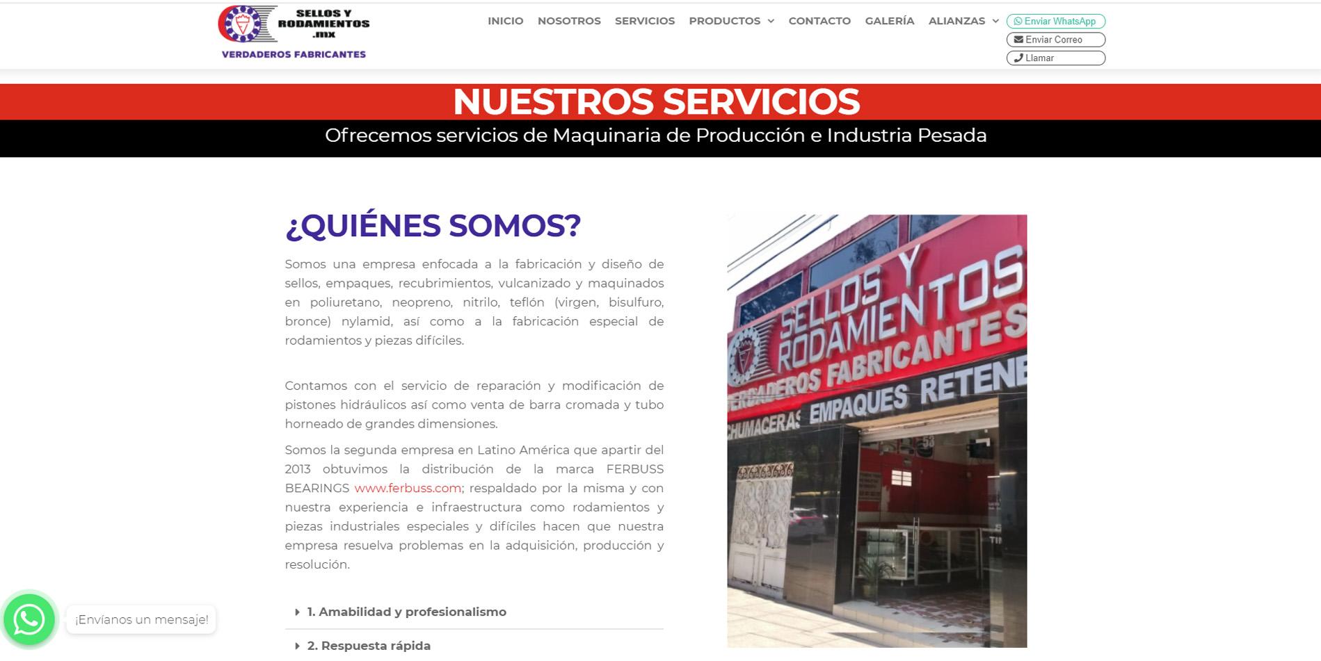Páginas web en Ciudad de México | 2021