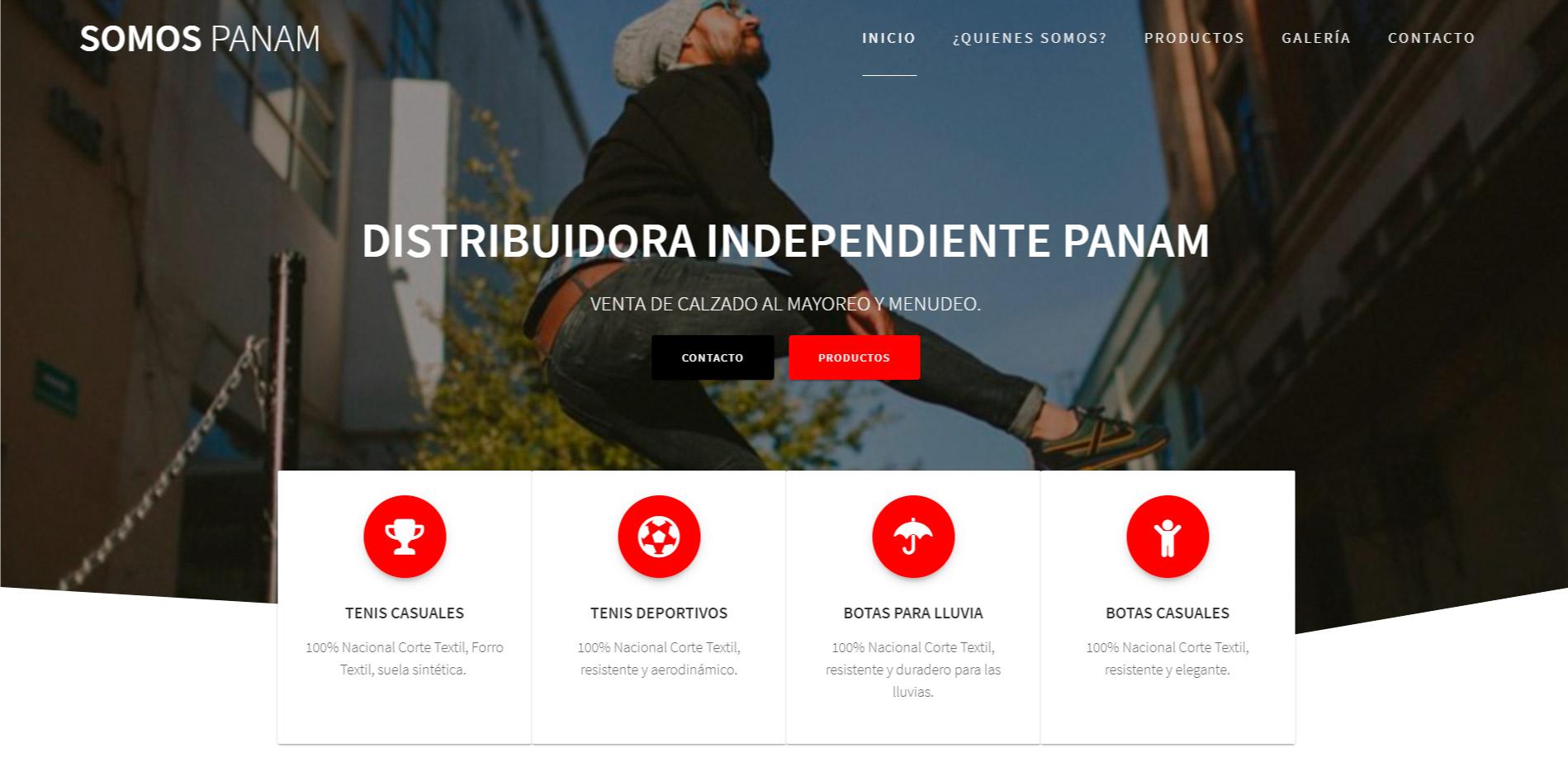 Pagina de mi empresa | Editando Ideas