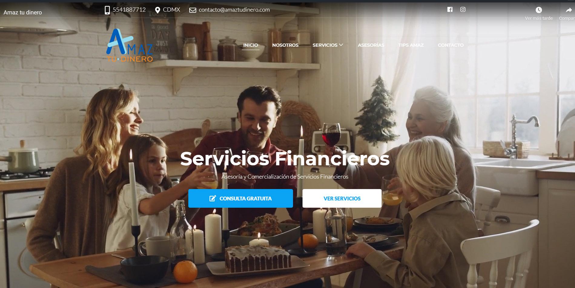 Páginas web en Ciudad de México