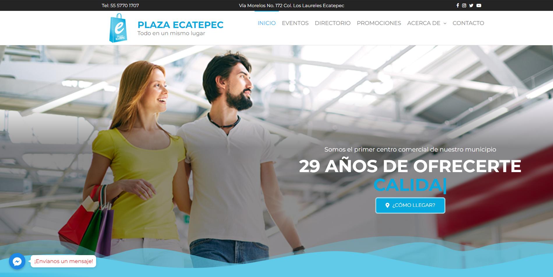 Páginas web en Estado de México 2020