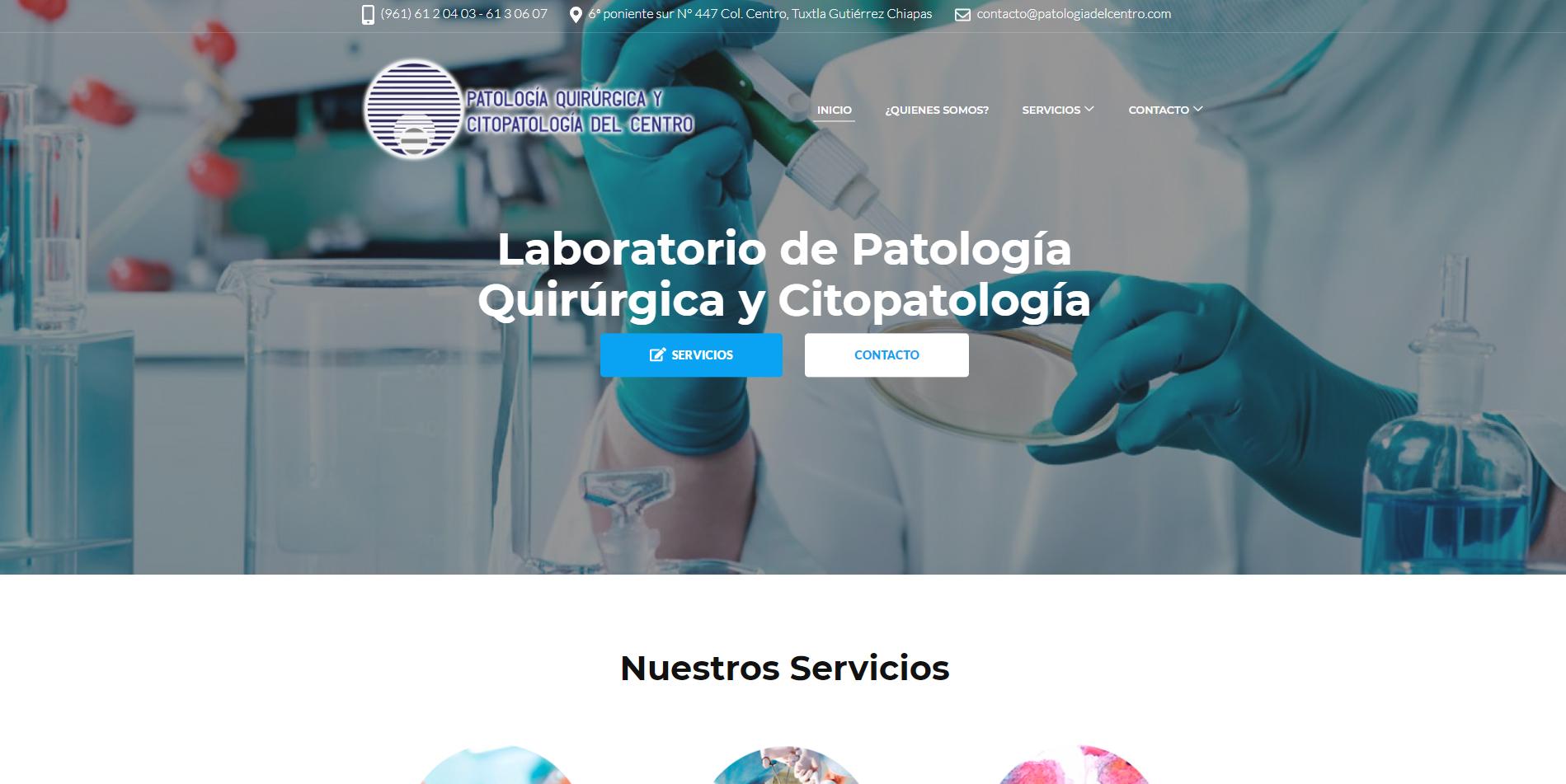 Páginas web en Tuxtla Gutierrez, Chiapas 2019